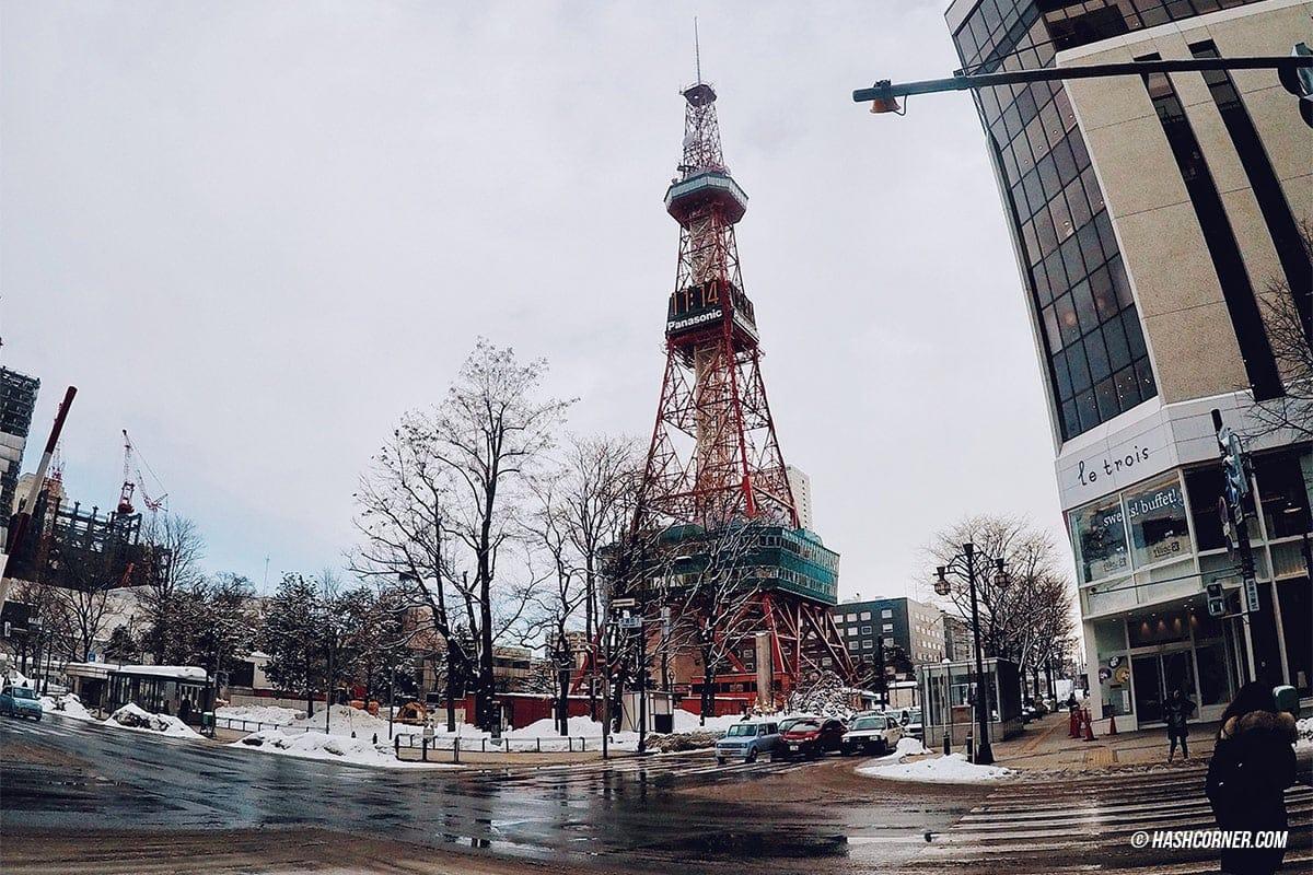 รีวิว ซัปโปโร (Sapporo) : เที่ยวฮอกไกโดคูลๆ ลุยหิมะหน้าหนาว 「Hokkaido Winter ...