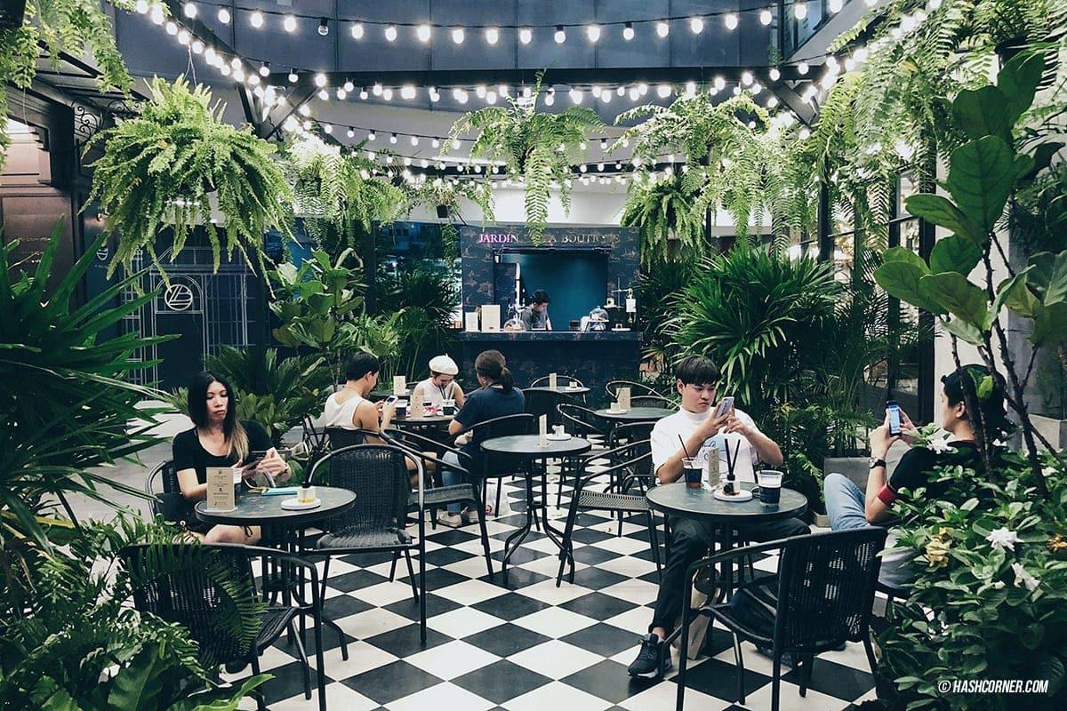 Jardin de la boutique cafe 03 hashcorner for Boutique jardin