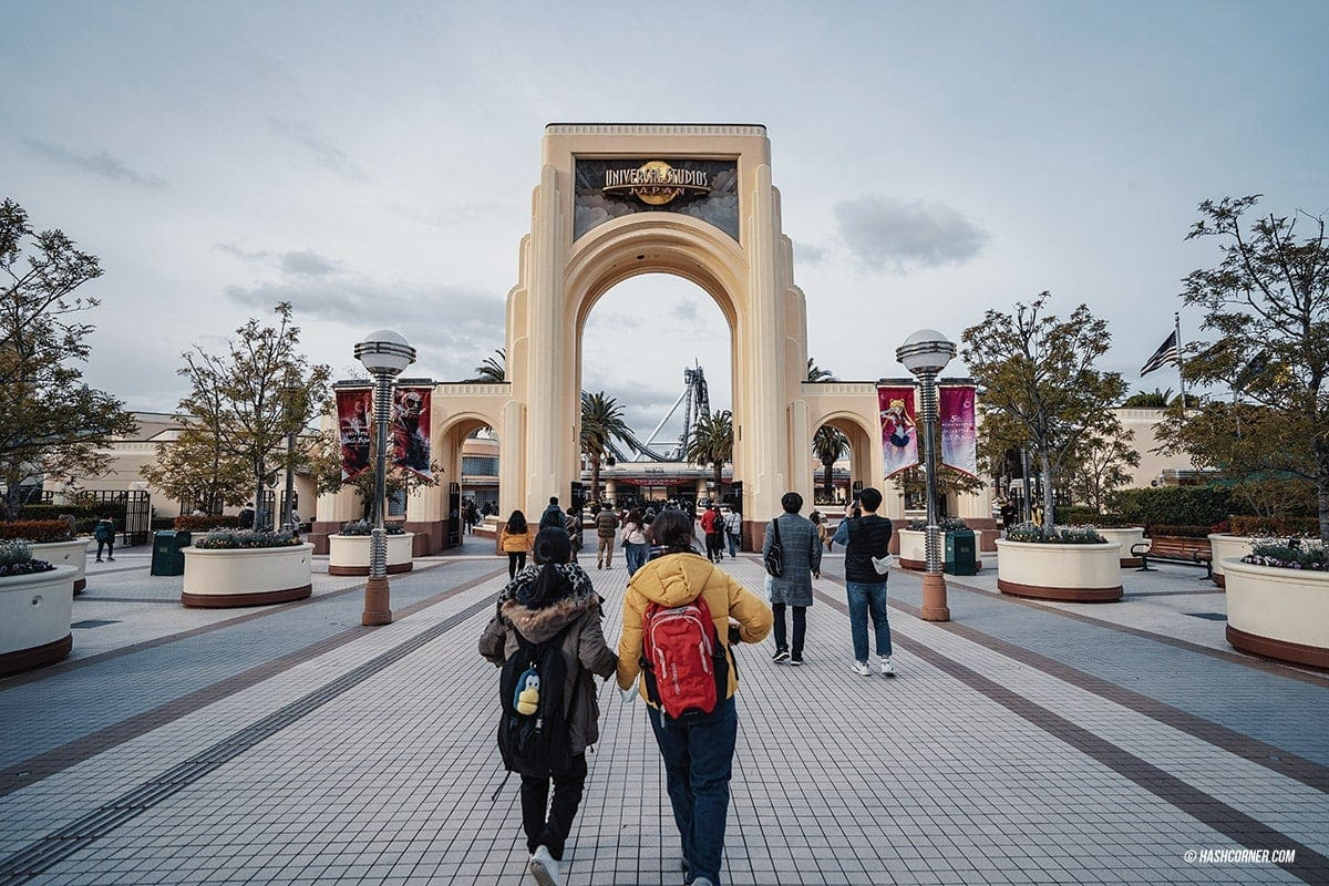 รีวิว Universal Studios Japan (USJ) โอซาก้า