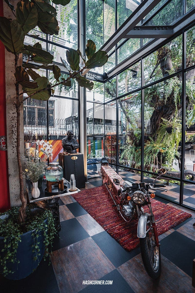 รีวิว MeStyle Garage Hotel Bangkok ดีไซน์โฮเทลเท่ห์ๆ ย่านห้วยขวาง