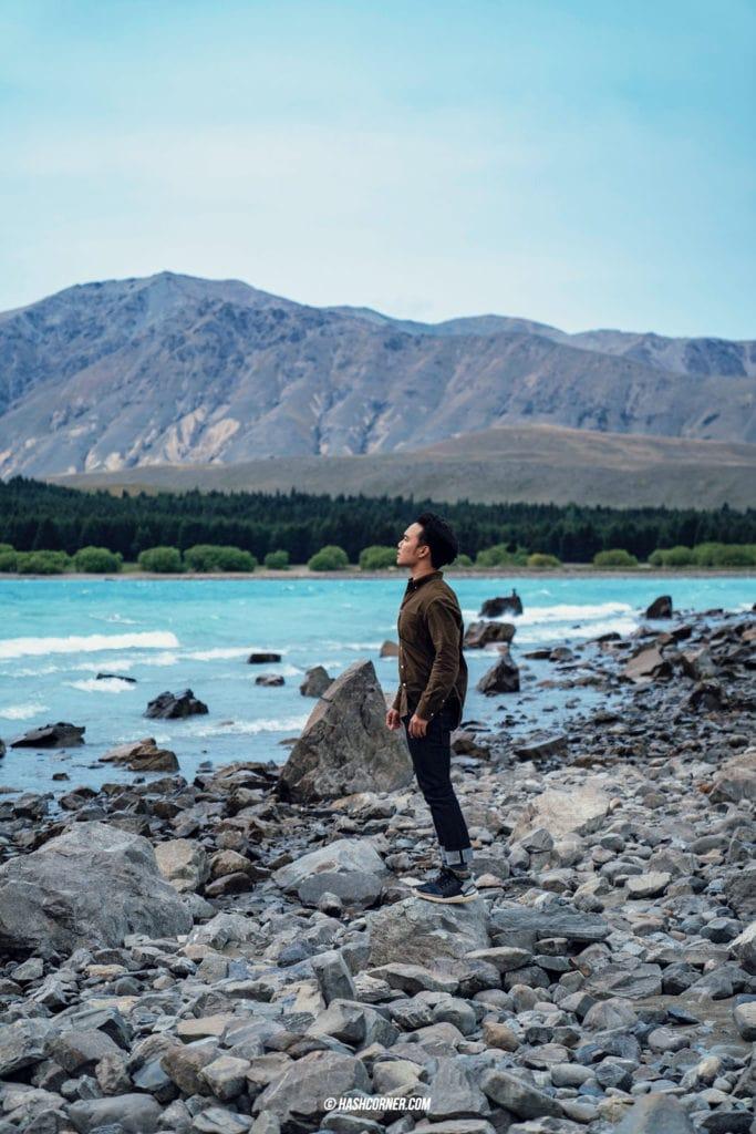 รีวิว ทะเลสาบเทคาโป (Lake Tekapo) เที่ยวเกาะใต้ นิวซีแลนด์