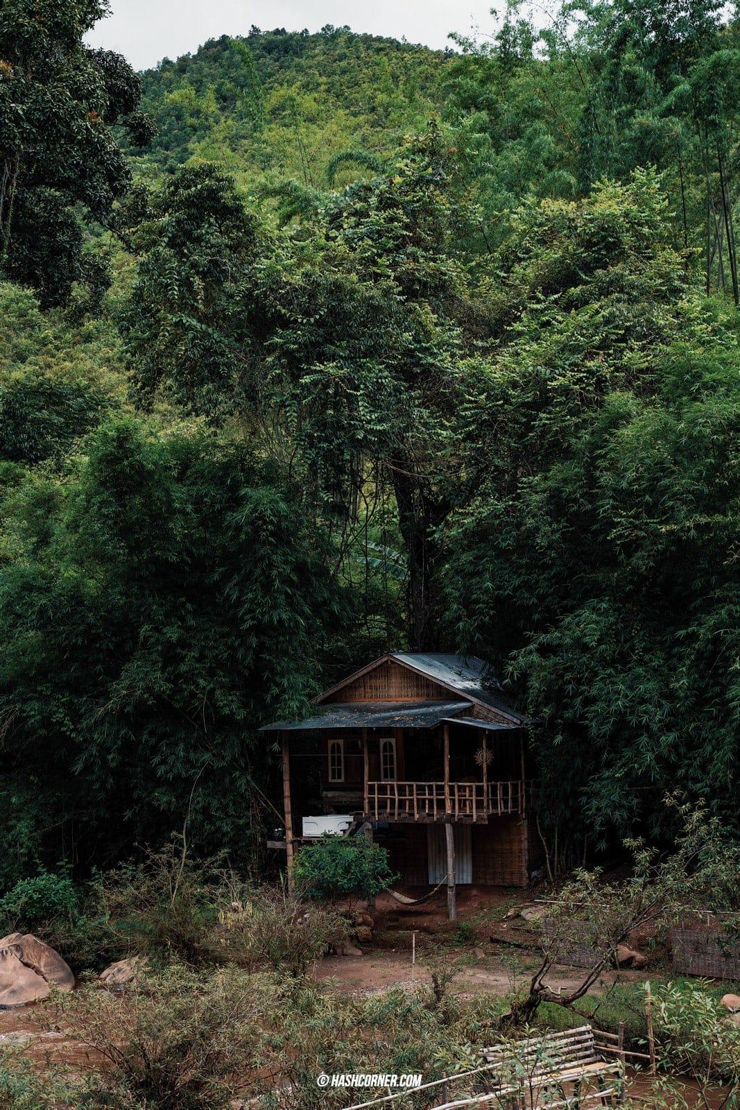 รีวิว บ้านสะปัน x น่าน : ความสงบโอบกอดด้วยภูเขา