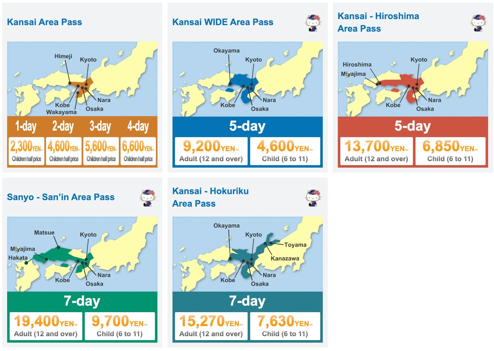 รีวิว ภูมิภาคคันไซ (Kansai) เที่ยวญี่ปุ่นแบบปังๆ!